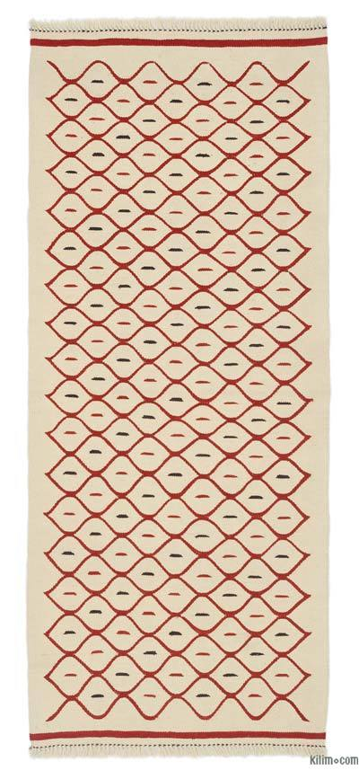 "New Turkish Kilim Runner Rug - 2' 9"" x 6' 7"" (33 in. x 79 in.)"