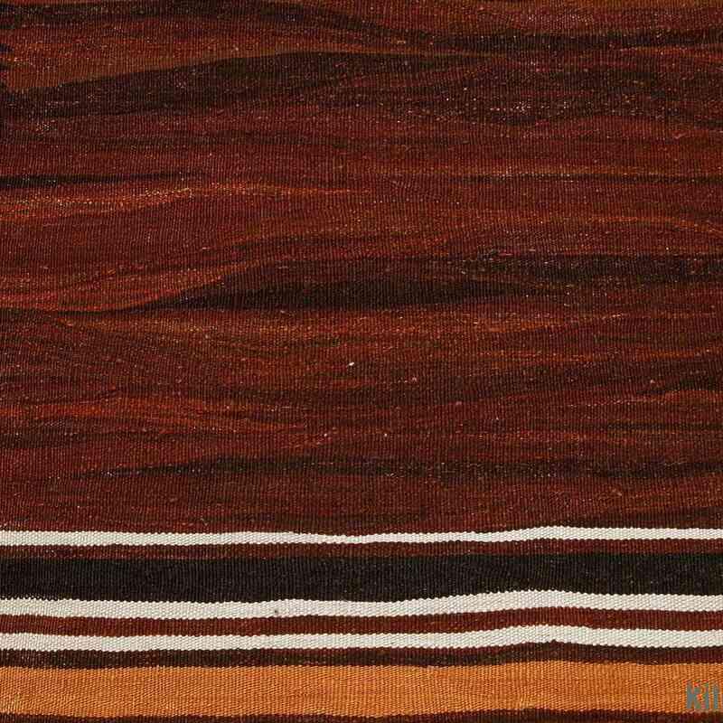 Brown New Turkish Kilim Rug - K0003852
