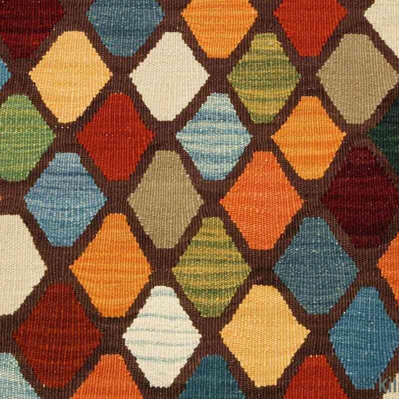 Multicolor New Turkish Kilim Runner Rug - K0003853