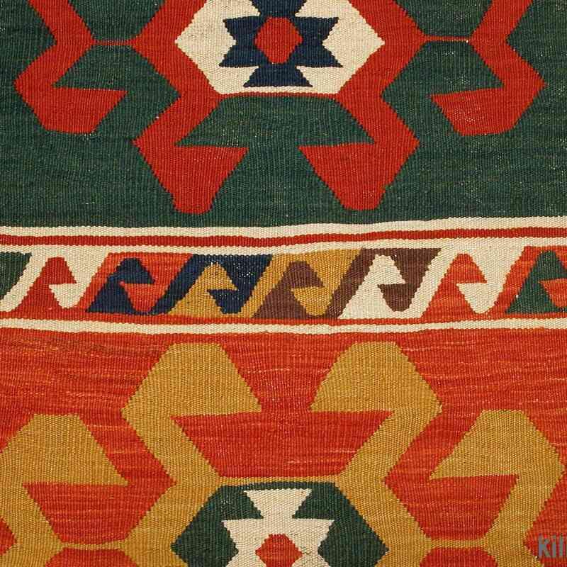 Multicolor New Turkish Kilim Runner Rug - K0003854