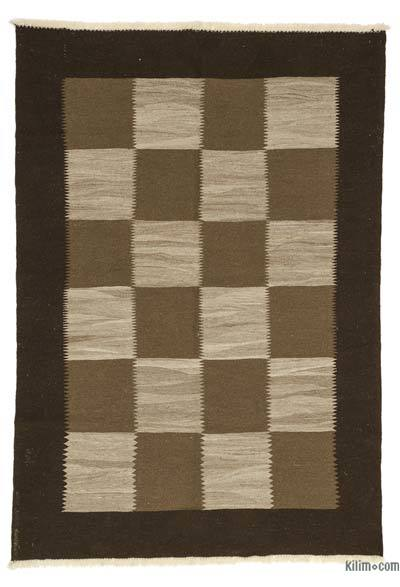 "New Turkish Kilim Rug - 5' 4"" x 7' 7"" (64 in. x 91 in.)"