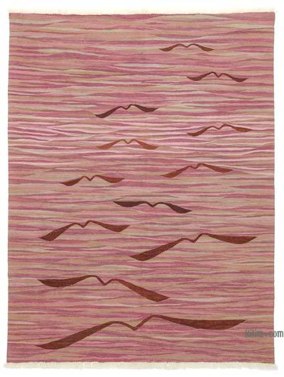 New Turkish Kilim Area Rug - 6' x 8' (72 in. x 96 in.)