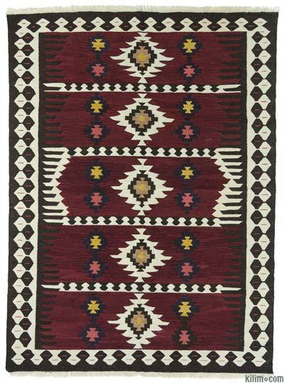 "New Turkish Kilim Rug - 5' 10"" x 8'  (70 in. x 96 in.)"