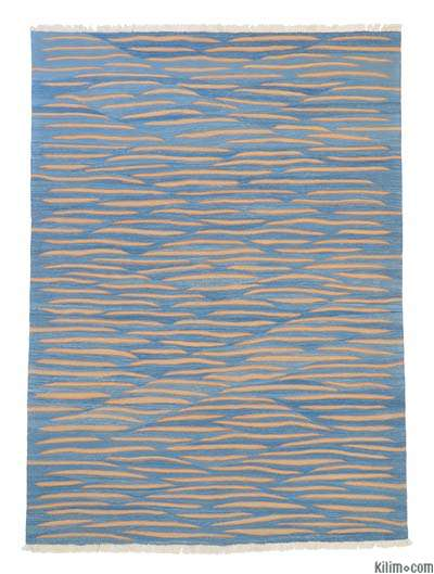 "New Turkish Kilim Rug - 6' x 8'2"" (72 in. x 98 in.)"
