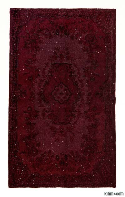 "Over-dyed Turkish Vintage Rug - 3' 11"" x 6' 8"" (47 in. x 80 in.)"