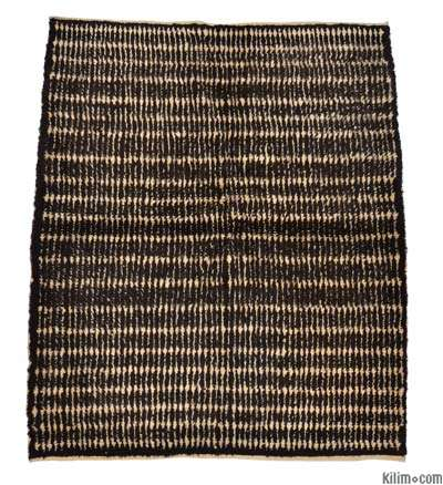 "New Turkish Tulu Rug - 5' 3"" x 6' 1"" (63 in. x 73 in.)"