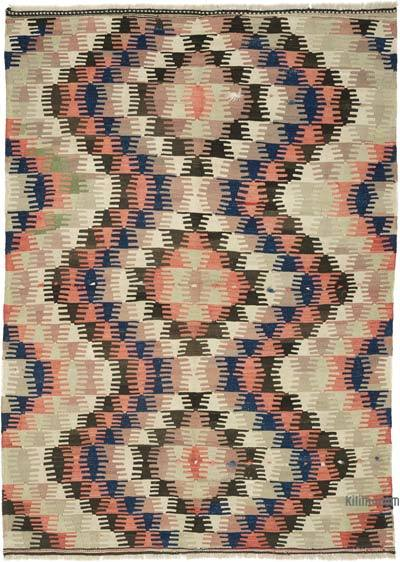 Alfombra Vintage Afyon Kilim - 173 cm x 230 cm