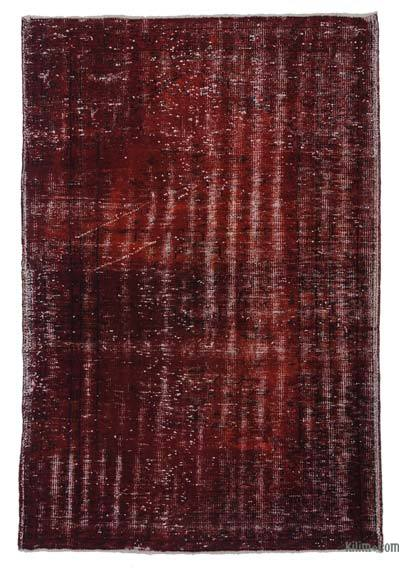 "Over-dyed Turkish Vintage Rug - 5'4"" x 7'11"" (64 in. x 95 in.)"