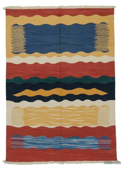 Multicolor New Handwoven Turkish Kilim Rug