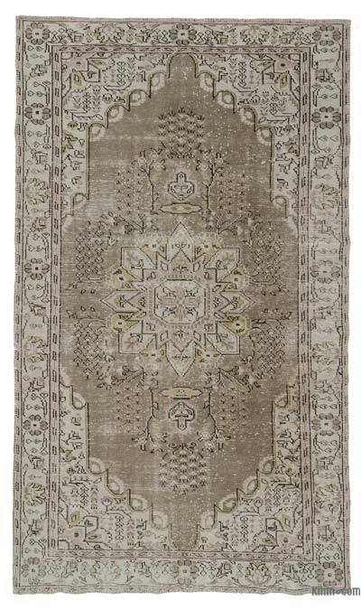 "Turkish Vintage Area Rug - 5'11"" x 10'2"" (71 in. x 122 in.)"