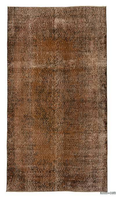 "Over-dyed Turkish Vintage Rug - 3' 9"" x 6' 11"" (45 in. x 83 in.)"