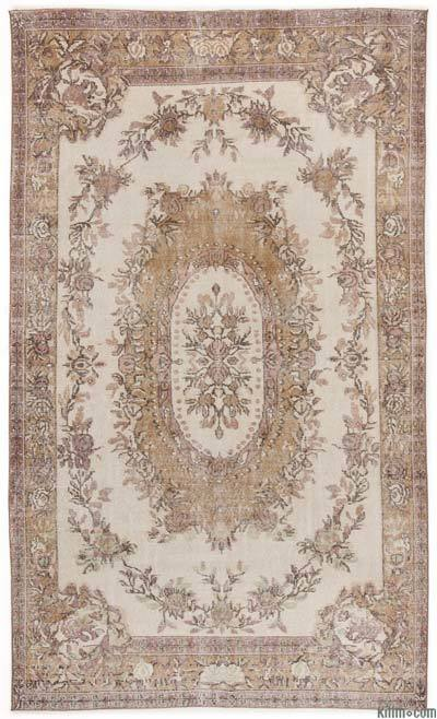 "Turkish Vintage Area Rug - 5'10"" x 9'9"" (70 in. x 117 in.)"