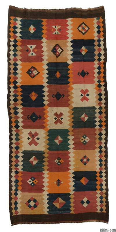 Antique Tajik Kilim Rug