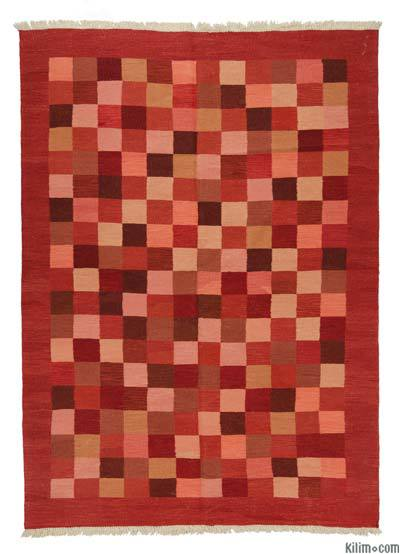 "New Handwoven Turkish Kilim Rug - 6' x 8'3"" (72 in. x 99 in.)"