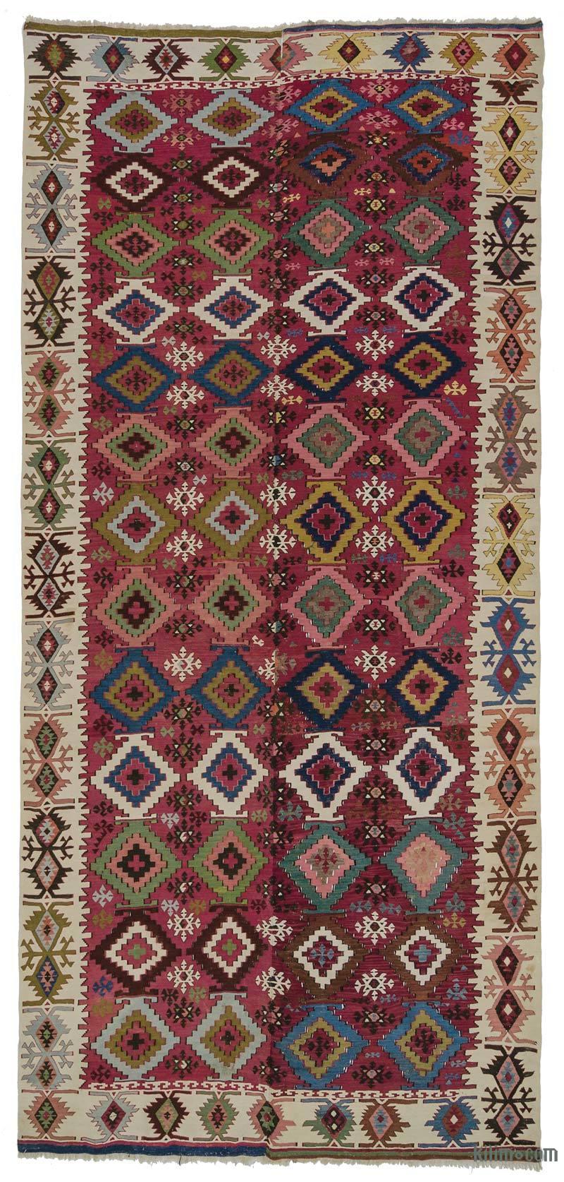 Çok Renkli Adana Kilimi - 168 cm x 370 cm - K0007983