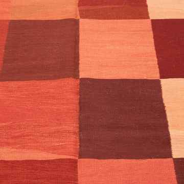 """Red New Handwoven Turkish Kilim Rug - 6' 10"""" x 10' 3"""" (82 in. x 123 in.) - K0008666"""