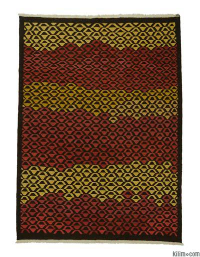 "New Handwoven Turkish Kilim Rug - 6' 3"" x 8' 6"" (75 in. x 102 in.)"