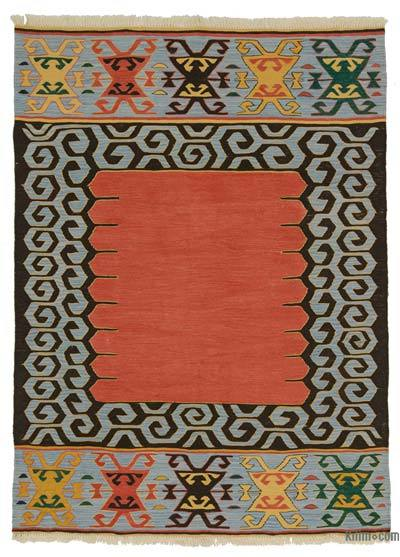 "New Turkish Kilim Rug - 5' x 6'9"" (60 in. x 81 in.)"