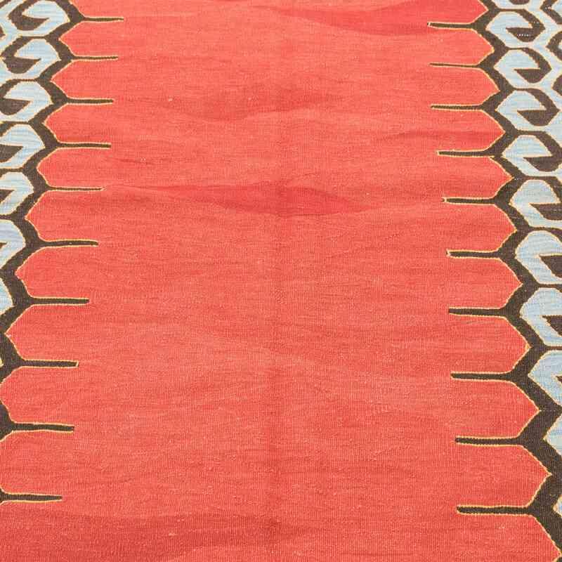 Kırmızı Yeni Kök Boya El Dokuma Kilim - 132 cm x 175 cm - K0008693