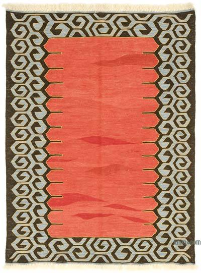 "New Turkish Kilim Rug - 4' 4"" x 5' 9"" (52 in. x 69 in.)"