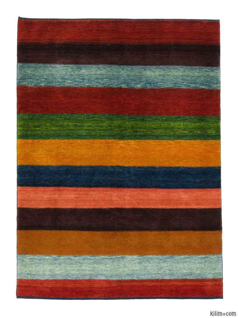 Multicolor New Turkish Pile Rug - K0008747