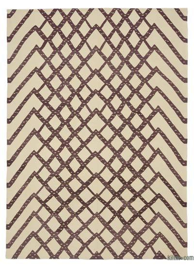 "New Handwoven Turkish Kilim Rug - 5'10"" x 8'2"" (70 in. x 98 in.)"