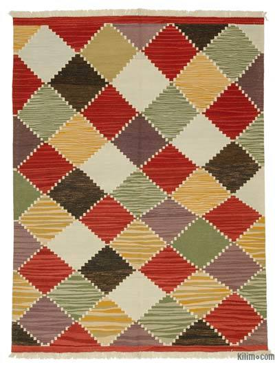 New Turkish Kilim Rug - 6' x 8' (72 in. x 96 in.)