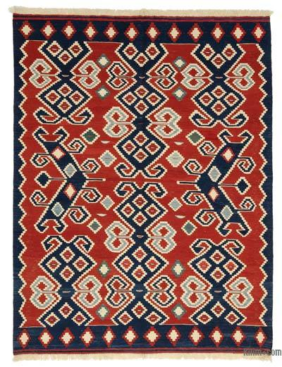 "New Turkish Kilim Rug - 6'  x 7' 11"" (72 in. x 95 in.)"