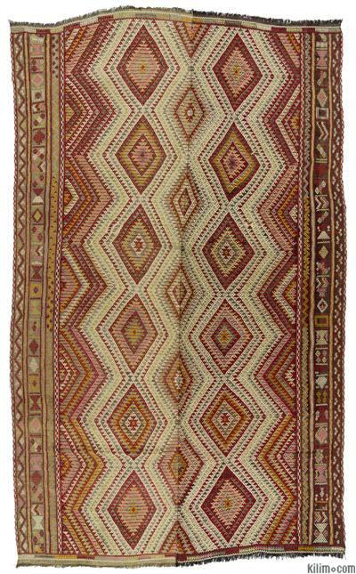 """Vintage Konya Jijim Rug - 5' 11"""" x 10' 2"""" (71 in. x 122 in.)"""