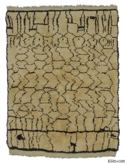 "New Turkish Tulu Rug - 4'7"" x 5'11"" (55 in. x 71 in.)"
