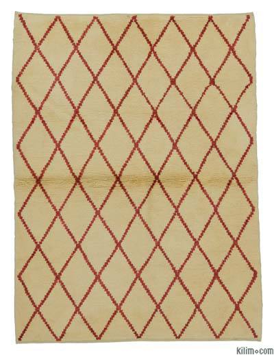 "New Turkish Tulu Rug - 4'5"" x 5'11"" (53 in. x 71 in.)"