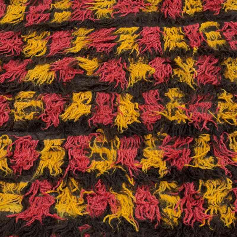 Kırmızı, Sarı Anadolu Tülü - 155 cm x 280 cm - K0008985