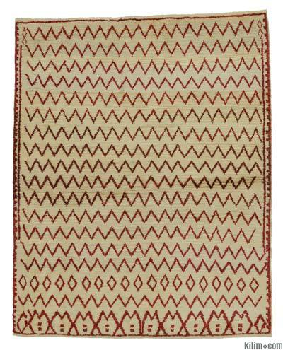 "New Turkish Tulu Rug - 4' 6"" x 5' 8"" (54 in. x 68 in.)"