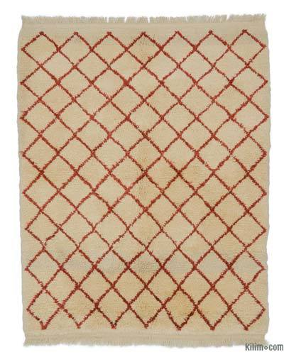 "New Turkish Tulu Rug - 4'6"" x 5'7"" (54 in. x 67 in.)"