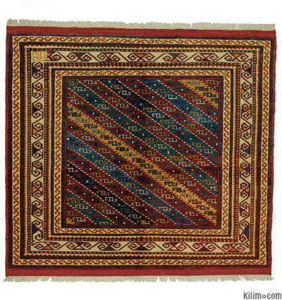 "New Turkish Pile Rug - 4' 8"" x 5' 4"" (56 in. x 64 in.)"