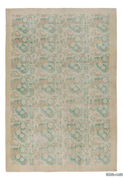 "Turkish Vintage Area Rug - 7' 2"" x 10' 7"" (86 in. x 127 in.)"