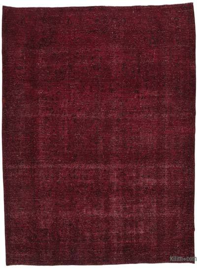 "Over-dyed Vintage Hand-knotted Oriental Rug - 9' 5"" x 12' 9"" (113 in. x 153 in.)"