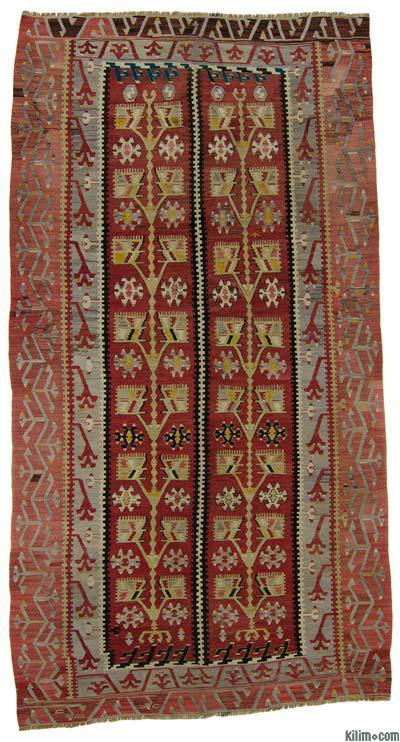 Vintage Esme Kilim Rug