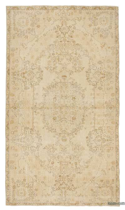 "Over-dyed Turkish Vintage Rug - 5'8"" x 9'10"" (68 in. x 118 in.)"