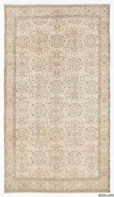 "Over-dyed Turkish Vintage Rug - 5'11"" x 10'3"" (71 in. x 123 in.)"