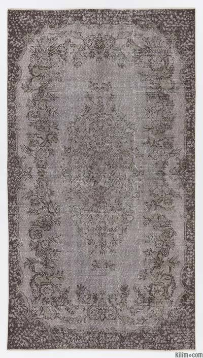 "Over-dyed Turkish Vintage Rug - 5'5"" x 9'10"" (65 in. x 118 in.)"