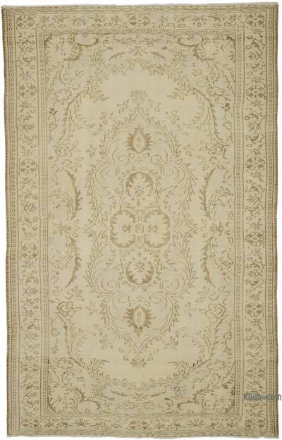 "Over-dyed Turkish Vintage Rug - 6' 3"" x 9' 7"" (75 in. x 115 in.)"