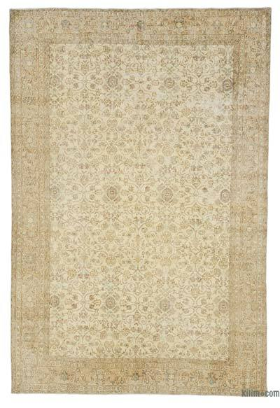 "Over-dyed Turkish Vintage Rug - 6' 11"" x 10' 5"" (83 in. x 125 in.)"