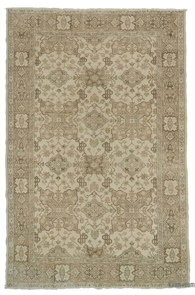 "Turkish Vintage Area Rug - 6' 11"" x 10' 7"" (83 in. x 127 in.)"