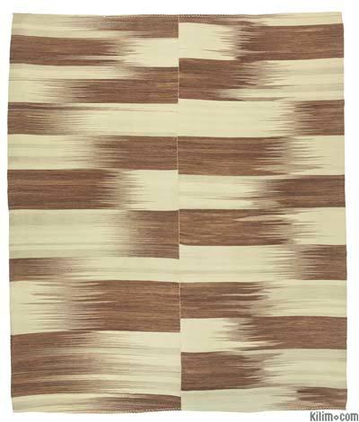 Kahverengi Yeni Anadolu Kilimi - 295 cm x 360 cm