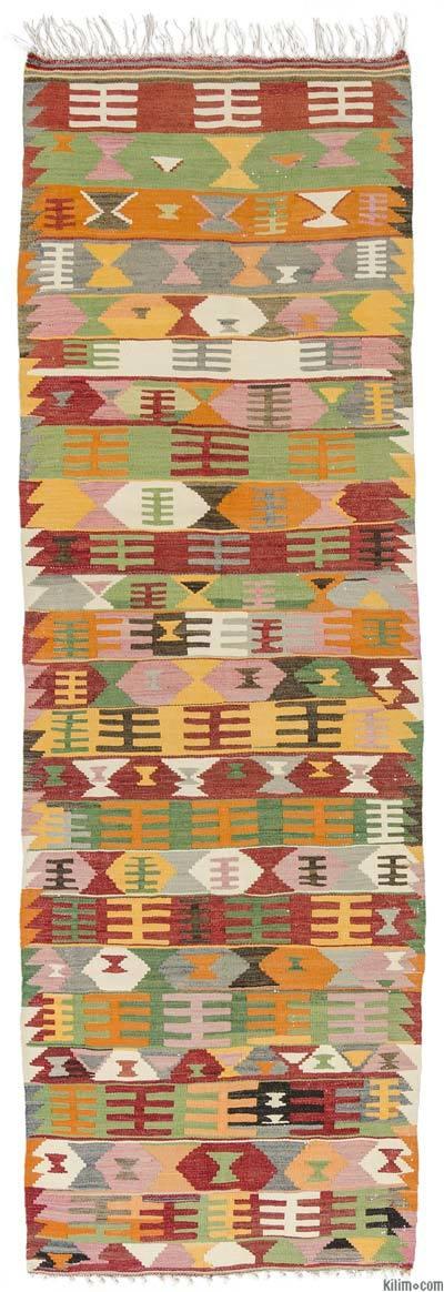 Corredor Vintage Afyon Kilim - 90 cm x 274 cm