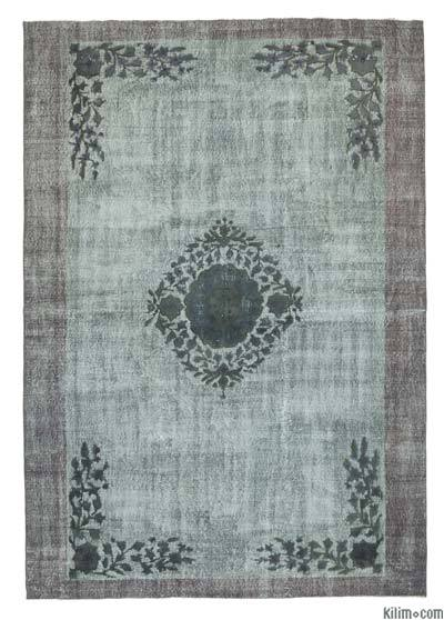"""Hand Carved Over-Dyed Rug - 6'9"""" x 9'7"""" (81 in. x 115 in.)"""