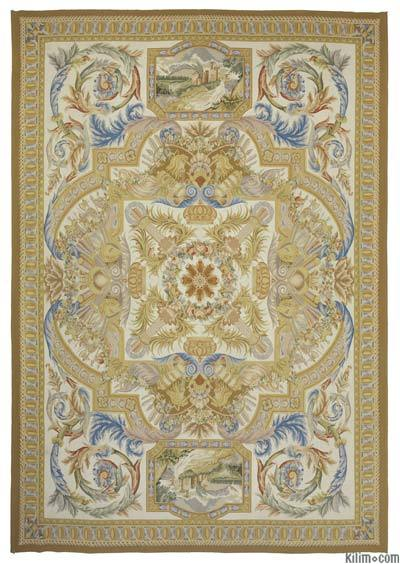 "Aubusson Rug - 10'  x 14' 4"" (120 in. x 172 in.)"