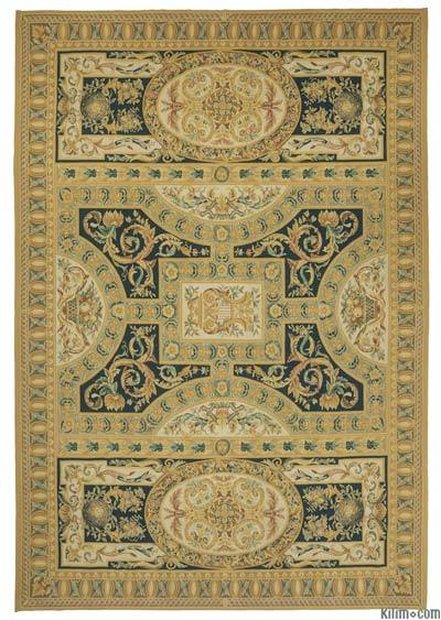 "Aubusson Rug - 9' 11"" x 14' 2"" (119 in. x 170 in.)"