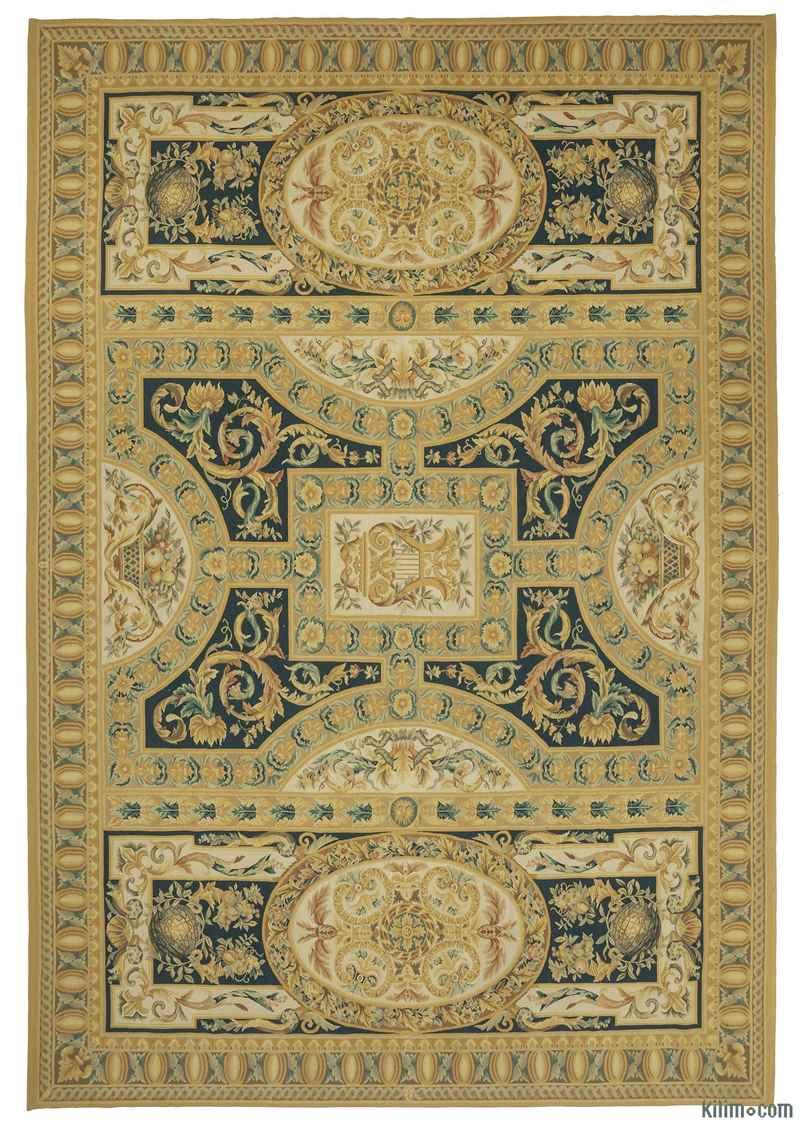 Aubusson Kilimi - 301 cm x 433 cm - K0010689